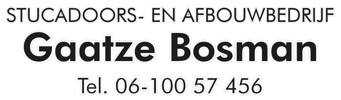 Logo Gaatze Bosman