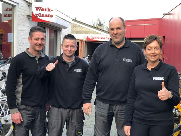 team Giezen Tweewielers Hoogkerk